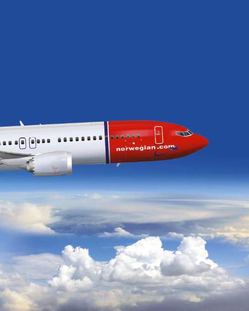 Norwegian decolla sui media con noi
