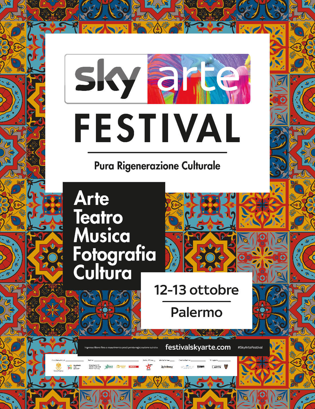 "Melismelis creative partner del ""Festival Sky Arte"""
