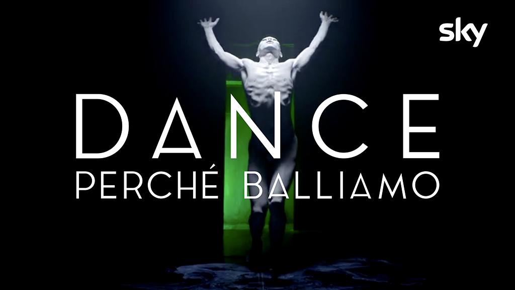 """Melismelis firma logo e visual identity di """"Dance – Perché Balliamo"""", la nuova produzione originale Sky"""