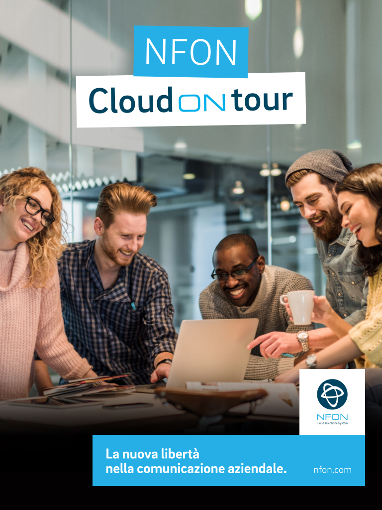 "Melismelis partner di NFON Italia per il roadshow ""Cloud on Tour"""