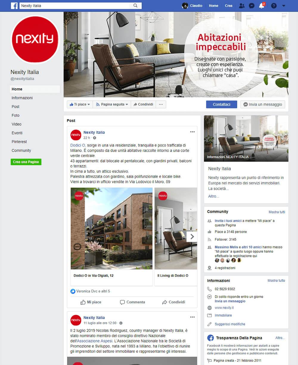 Nexity Italia affida a Melismelis gli investimenti online e la gestione di tutti i profili social