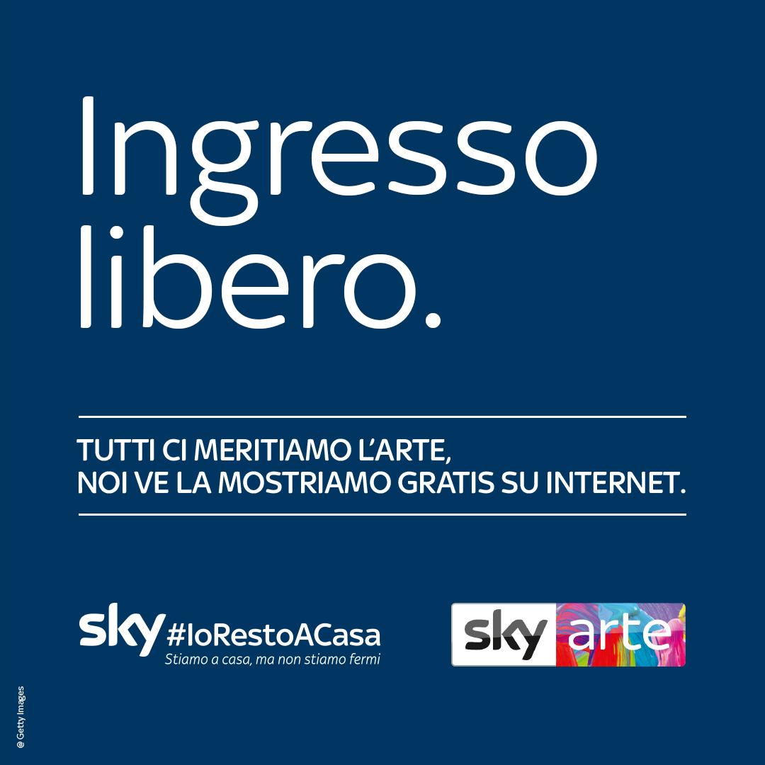 "Melismelis firma la nuova campagna di Sky Arte ""Ingresso Libero"""