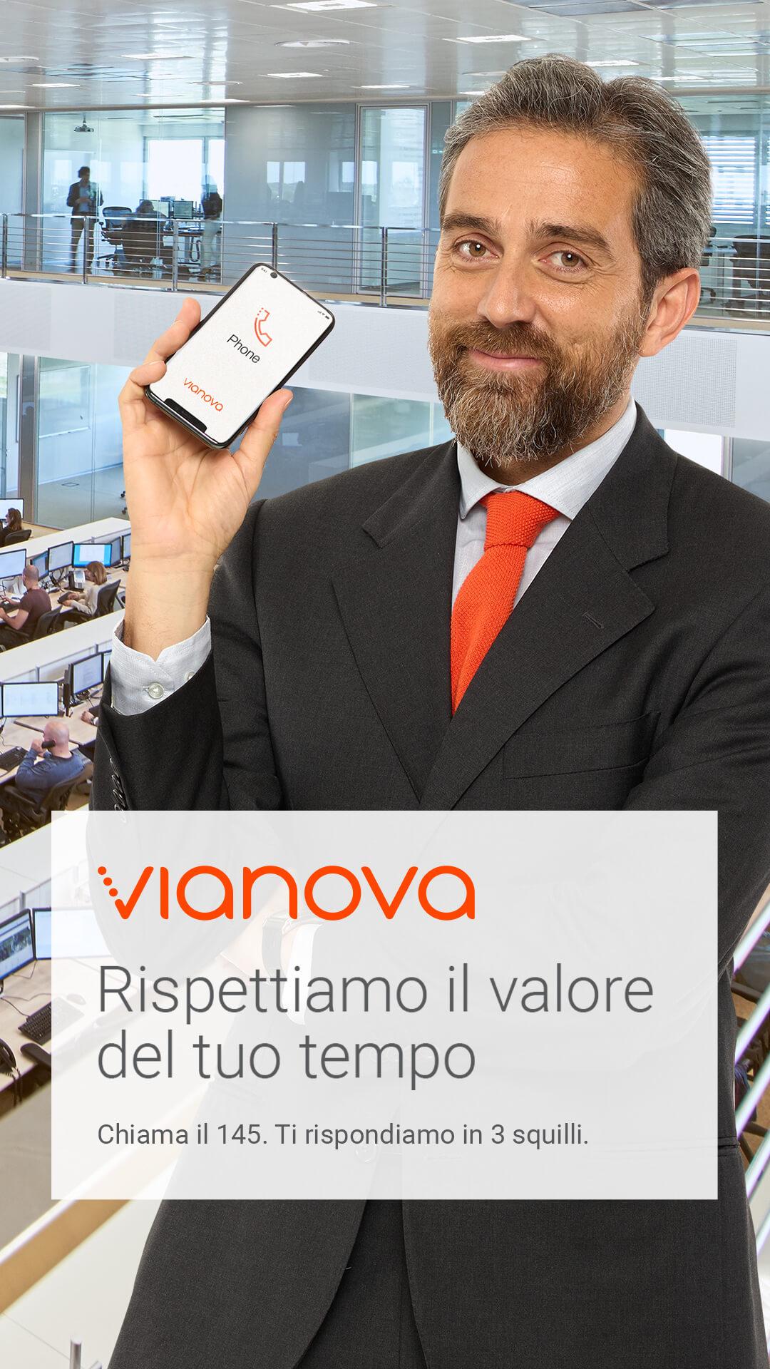 Vianova on air con Melismelis: al via la nuova campagna su TV e digital